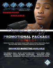 C. Allen Production Promotional Package