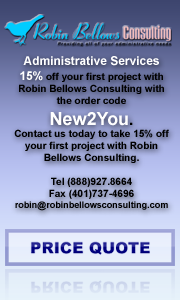 Robin Bellows Consulting